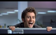 Work would be so much more fun if THIS face would pop up over my cube!