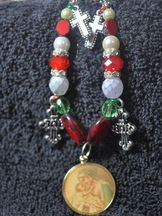 Celebrate Christmas Charms Bracelet by EnchantedJewelry2012, $12.00