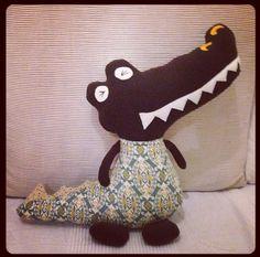 Bil is een krokodil hap hap met je krokodil.