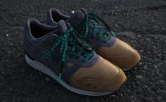 "05947d7d909 CNCPTS x ASICS Gel Lyte III ""Three Lies"". Saucony Shoes"