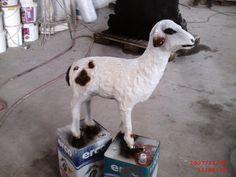 Kuzu Heykeli Beton Goats, Animals, Animales, Animaux, Animal, Animais, Goat