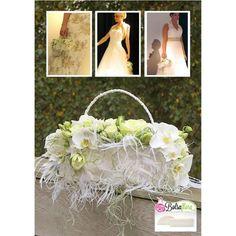 Bolsa Flora VI bruidsboekethouder bloementasje