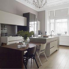 1000 ideas about kitchen island table on pinterest island table kitchen islands and island - Stylishly modern kitchen islands additional work surface ...