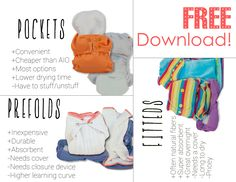 Free cloth diaper information cards for download.  Perfect for cloth diaper classes!   From www.dirtydiaperlaundry.com.