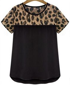 Women's Leopard Print Shirt NOW In +Plus Sizes