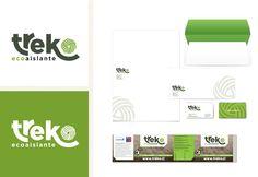 Diseño de Imagen Corporativa para TREKO, empresa que produce aislantes térmicos cuya materia prima es la lana de oveja