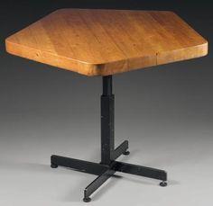 Charlotte PERRIAND (1903-1999) Table basse « Les Arcs » (c.1965), modèle à platea