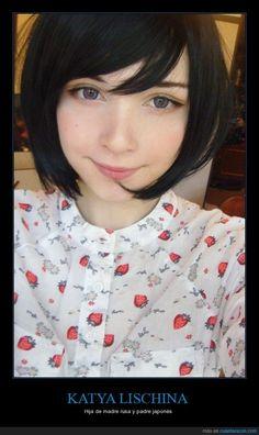 Vale, sí, todos estamos un poco enamorados de ella - Hija de madre rusa y padre japonés