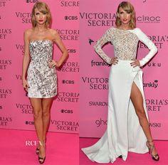 Taylor Swift In J. Mendel & Zuhair Murad Couture – 2014 Victoria's Secret Fashion Show