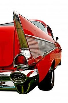 1957 Chevrolet, everyone's favorite. Iconic car of the 1950s.