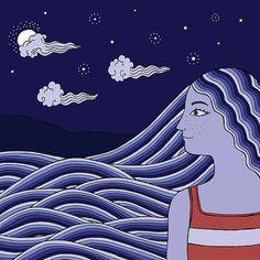 Kripa Joshi: Water - Miss Moti | Illustration