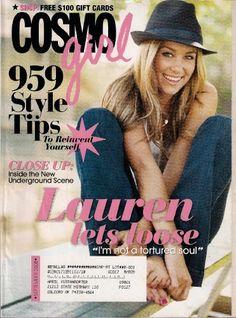 Cosmo Girl Magazine september 2008 LAUREN CONRAD, « Library User Group