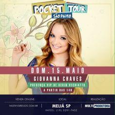 15/05 ♥ Giovanna Chaves apresenta seu Pocket Show em São Paulo no Hotel Meliá Paulista ♥  http://paulabarrozo.blogspot.com.br/2016/05/1505-giovanna-chaves-apresenta-seu.html
