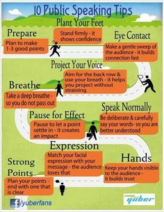 10 Public Speaking Tips #publicspeaking