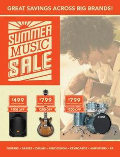 Totally Music Dubbo Summer Music Sale 2016  Totally Music Dubbo, online store www.totallymusicgear.com.au