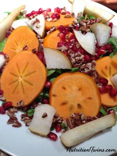 Fruited Harvest Salad for the #Holidays via @nutritiontwin