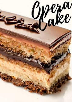 Opera Cake www.pastry-workshop.com