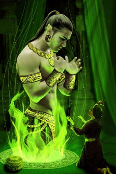 Djinn Spirits - SOW Magick - http://www.sowmagick.ga/