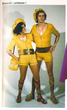"Melynda and Marcós had high hopes to win the Disco-Fever-Dance-Off-A-Rama-1978. Especially wearing grandma's lucky favorite color--sunflower yellow. They left the apartment with a hearty ""R.I.P. Grammy--we're gonna win this one for YOU!""  #fashiondisasters  #fails  #funny"