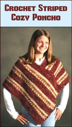 50 Free Crochet Poncho Patterns for All - Page 5 of 9 - DIY & Crafts