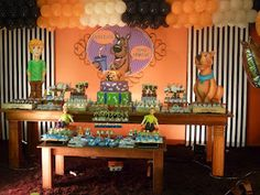 ANTES DA FESTA: Scooby Doo