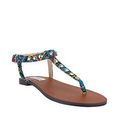 #tribal pattern sandals