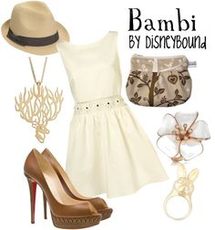 """Bambi"" by lalakay ❤ liked on Polyvore"