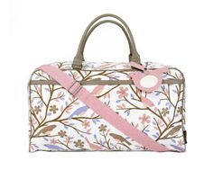 Dwell Studio - NEW BEAUTIFUL Sparrow Lilac Weekender Bag - Review   Giveaway e4196049412cc