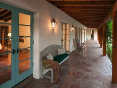 Spanish Hacienda porch
