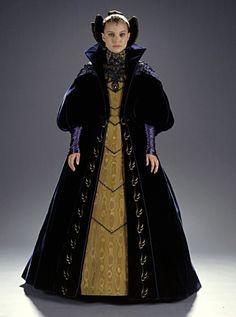 Natalie Portman as Padme in Star Wars Episode II