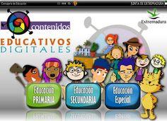 Atenea Plateada vs. Ticdeplata: Contenidos Educativos Digitales para Educación Primaria. CEJEX. Constructor de Atenex.