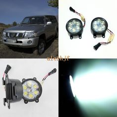 69.99$  Watch here - http://aliqxu.shopchina.info/go.php?t=32804093955 - July King 18W 6LEDs H11 LED Fog Lamp Assembly Case for Nissan Patrol Y612005~2010, 6500K 1260LM LED Daytime Running Lights 69.99$ #buymethat