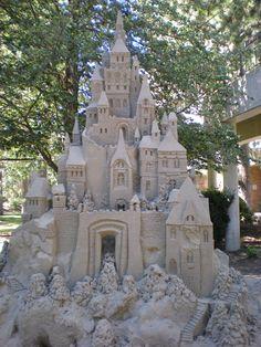 Sand Castle by Tearz2rozez.deviantart.com on @deviantART