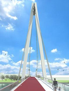 NEXT Architects - Next Projects - Dafne Schippers Bicycle Bridge
