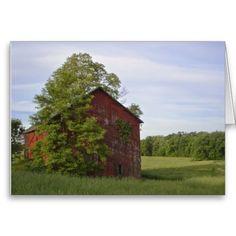 Pastoral Barn Notecard