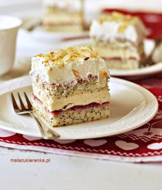 Polish Cake Recipe, Polish Recipes, Cookie Recipes, Dessert Recipes, Vegan Junk Food, Good Food, Yummy Food, Vegan Smoothies, Fashion Cakes