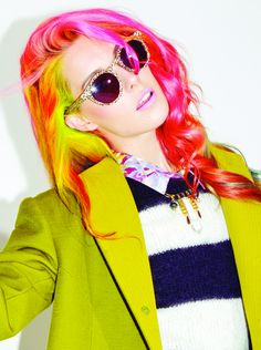 yellow ombre hair - Google Search
