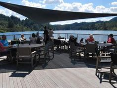 Relax with a latte or even a glass of wine, and enjoy the view out over Lake Ohakuri and the geothermal field from the MudCake Café at Orakei Korako