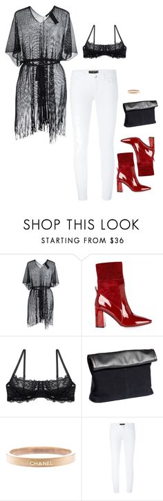 """""""27"""" by slayday ❤ liked on Polyvore featuring FISICO Cristina Ferrari, H&M, Chanel, Dolce&Gabbana and slay"""
