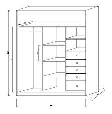 Resultado de imagem para medidas para cajones en closets