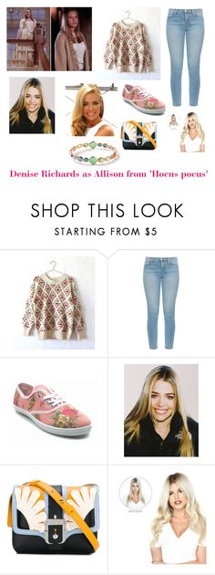 """""""Disney dream cast: Denise Richards as Alison from 'Hocus pocus'"""" by sarah-m-smith ❤ liked on Polyvore featuring J Brand, Paula Cademartori and Ippolita"""