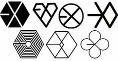 EXO Lucky One  #exo #luckyone #lucky #one all exo logos