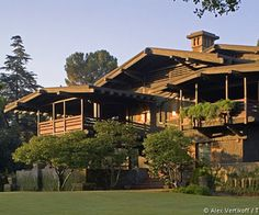 "Gamble House, Pasadena CA (House used in the movie BACK TO THE FUTURE. (""Doc's"" home)"