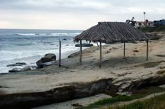 The Windansea beach shack is one of the most popular places in La Jolla to take photos (it will be rebuilt soon). Home Appraisal, San Diego Travel, San Diego Beach, Hidden Places, Hidden Beach, Beach Shack, California Dreamin', La Jolla, Trip Planning