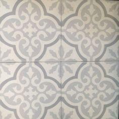 Marockanskt kakel Marrakech frostgrå flera