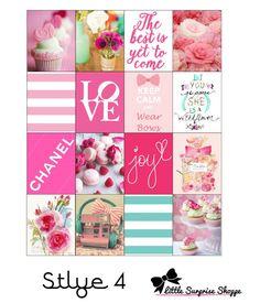 Fashion Icon Erin Condren Stickers by LittleSurpriseShoppe on Etsy