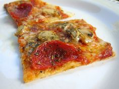 St. Louis Style Pizza recipe http://www.plainchicken.com/2012/07/st-louis-style-pizza.html