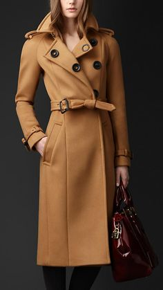 Bonded Cashmere Trench Coat | Burberry