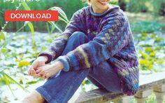 Noro entrelac jumper; free knitting pattern! • LoveKnitting Blog