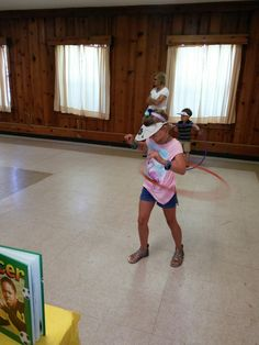 Summer Reading kickoff at Stanley Community Building